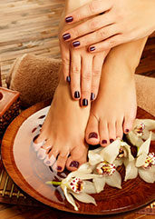 Mississauga spa pedicure